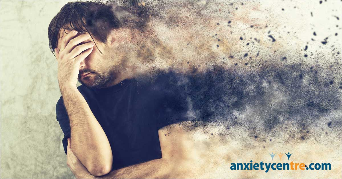 anxiety symptoms but don't feel anxious image