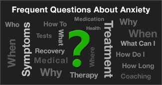 anxiety frequently asked questions