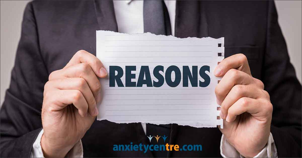 anxiety symptoms returned after a stressful circumstance, why?