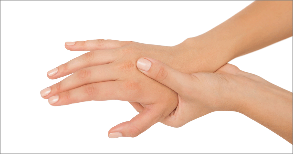 What causes pain and tingling in arms hands