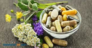 taking certain herbs, vitamins, and supplements can cure anxiety disorder myth