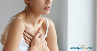 anxiety chest tremors symptoms