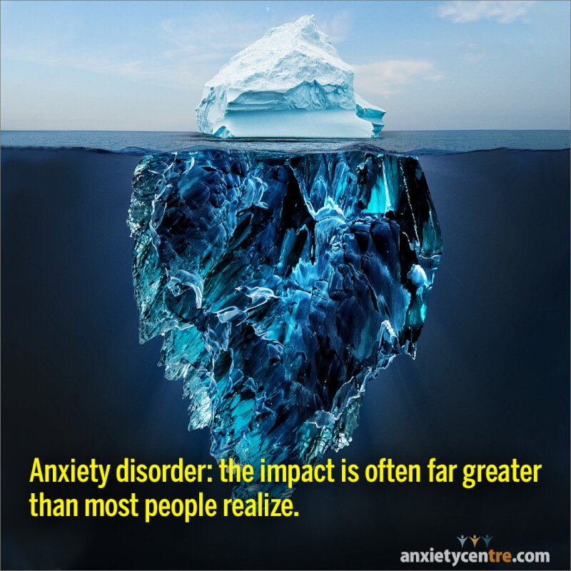 impact of anxiety disorder image