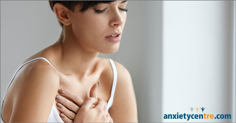 anxiety chest tremors