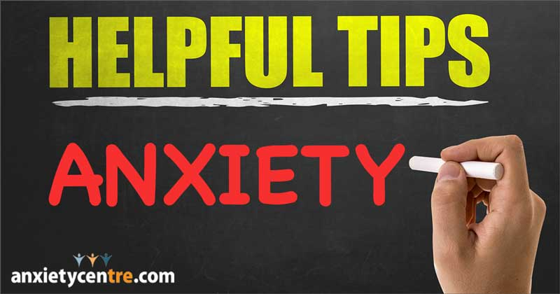 anxiety disorder tips