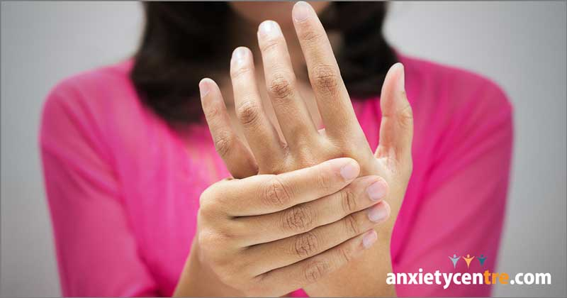numbness tingling anxiety symptoms