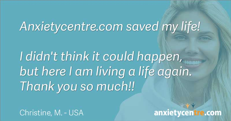 anxietycentre saved my life