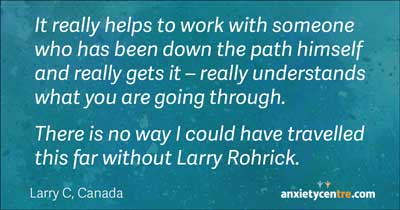 could not have traveled this far without larry rohrick