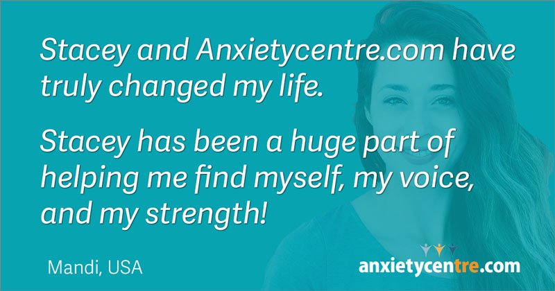 stacey and anxietycentre truly changed my life