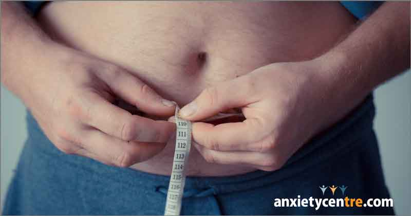 weight gain anxiety symptoms