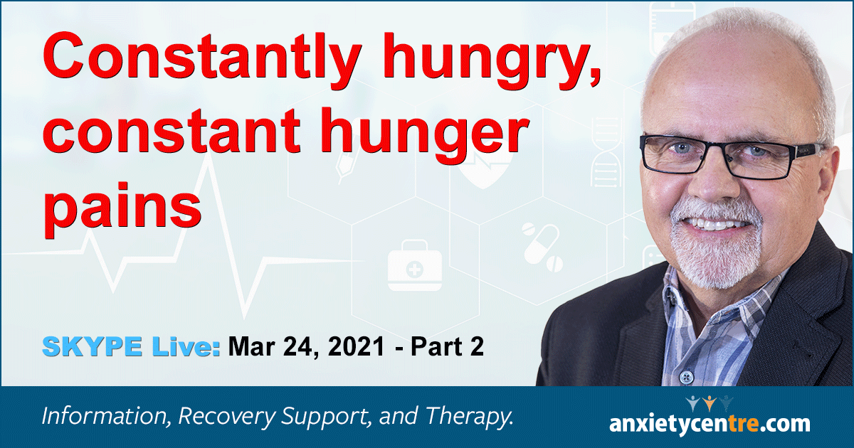 """Featured image for """"Anxiety And Constantly Hungry"""""""