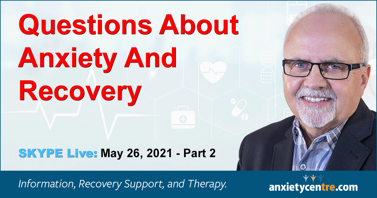 """Featured image for """"Questions About Anxiety And Recovery"""""""